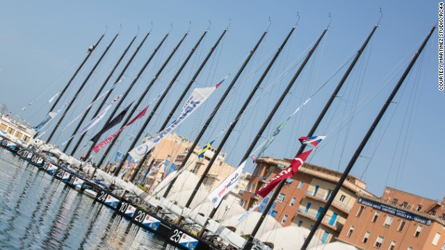 Trapani, whose blend of medieval and baroque architecture attracts thousands of tourists each year, is famous on the yacht racing circuit for its strong winds and clear waters. It has hosted Acts 8 and 9 of the prestigious Louis Vuitton Cup series in 2005, as well as the Extreme Sailing Series.