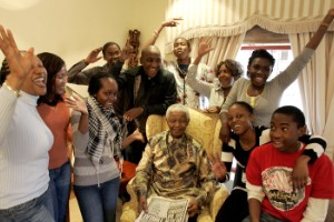 La familia Mandela en imágenes