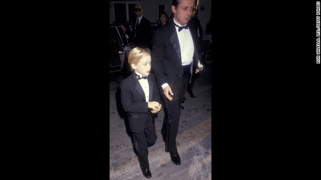 "Macaulay Culkin and father Kit Culkin arrive at the 17th Annual People's Choice Awards in 1993. At 16, the ""Home Alone"" star filed for and won emancipation from his parents, accusing them of financial mismanagement."
