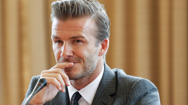 Un homenaje a Beckham, en versión LEGO