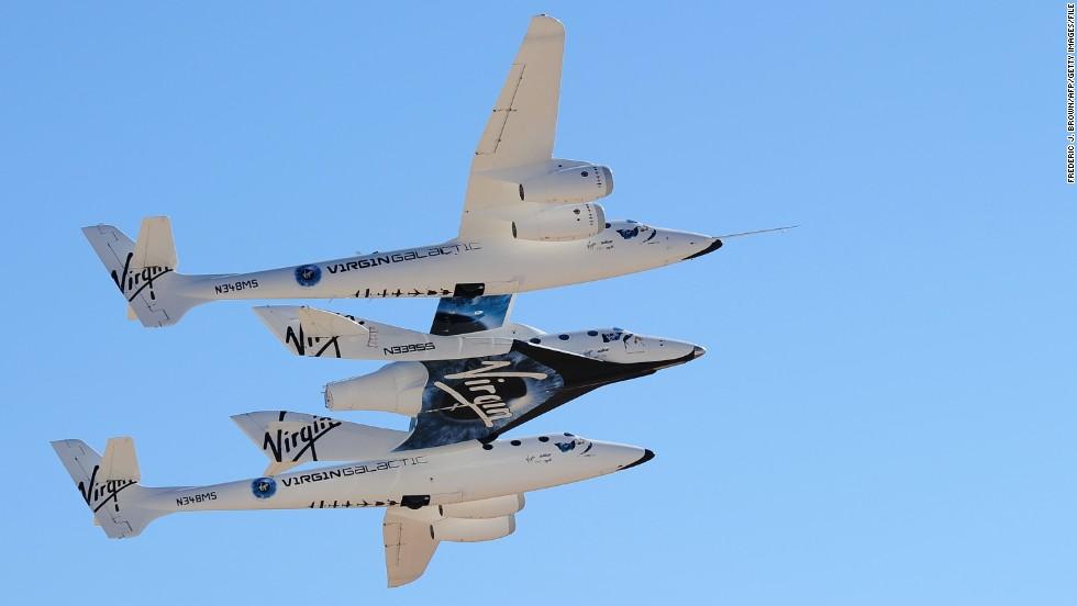 El avión espacial de Virgin Galactic