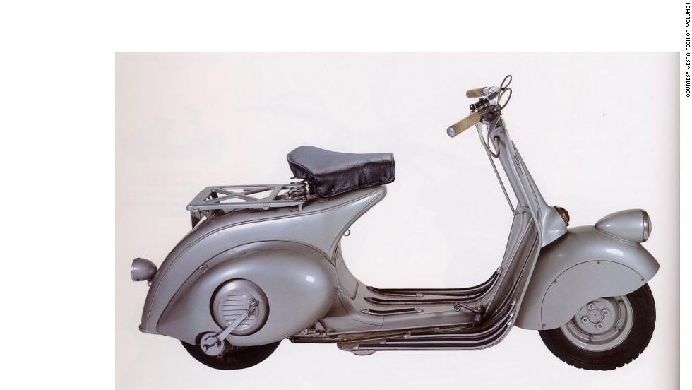 La moto Vespa