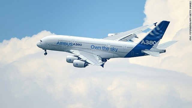 """The super-jumbo,"" ""the gentle giant,"" call it what you will, the Airbus A380 is the world's largest passenger jet and was selected by Deyan Sudjic, director of London's Design Museum. Revealed in 2005 to challenge the Boeing monopoly, this magnificent aircraft can haul over 850 people through the skies."