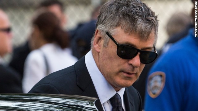 "In June 2013, Baldwin <a href='http://www.cnn.com/2013/06/28/showbiz/alec-baldwin-twitter-war/index.html'>once again took to Twitter</a> to slam a reporter who claimed that Baldwin's wife, Hilaria, was tweeting during the funeral of ""The Sopranos"" star James Gandolfini."