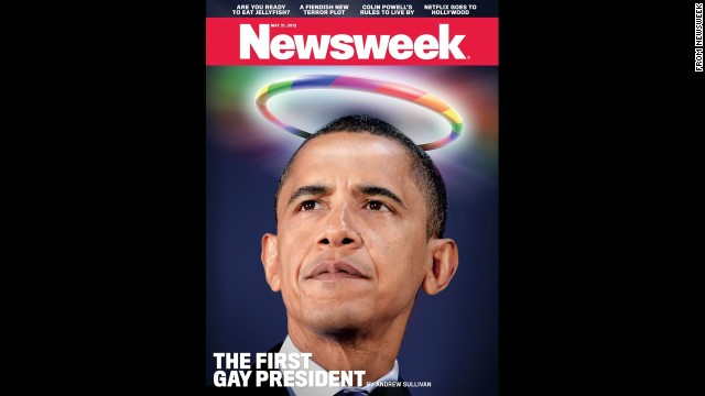 Newsweek's May 21, 2012, cover.
