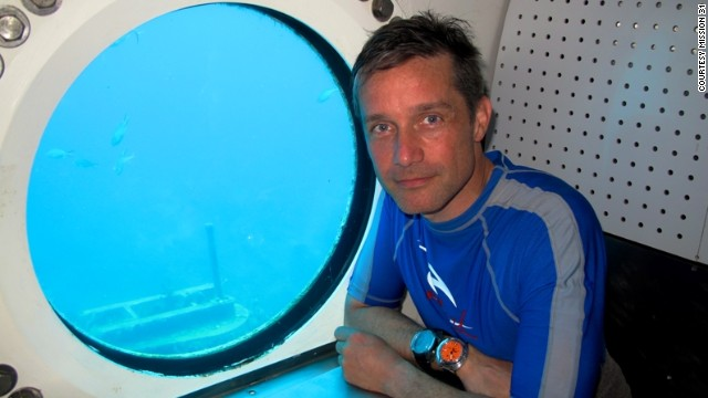 "The expedition -- dubbed ""Mission 31"" -- will be led by Fabien Cousteau (pictured), the grandson of legendary diver Jacques Cousteau."