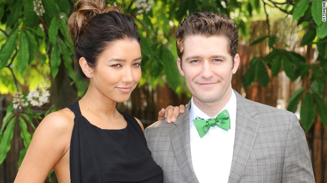 'Glee's' Matthew Morrison is engaged