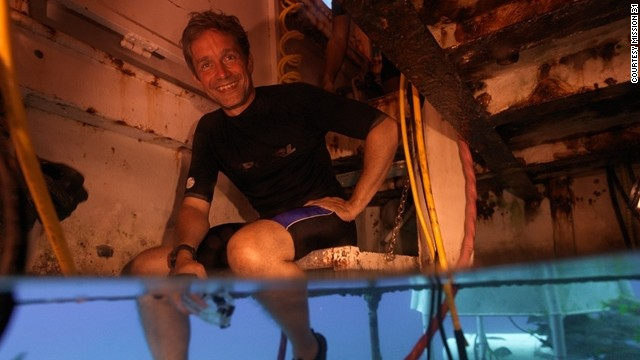 The team will undergo 15 days of intensive training before taking the plunge. In an emergency, they'll be unable to swim to the surface straight away, due to compression sickness. Instead, the pressure in the habitat will be slowly raised to that of Earth's, over 24 hours.
