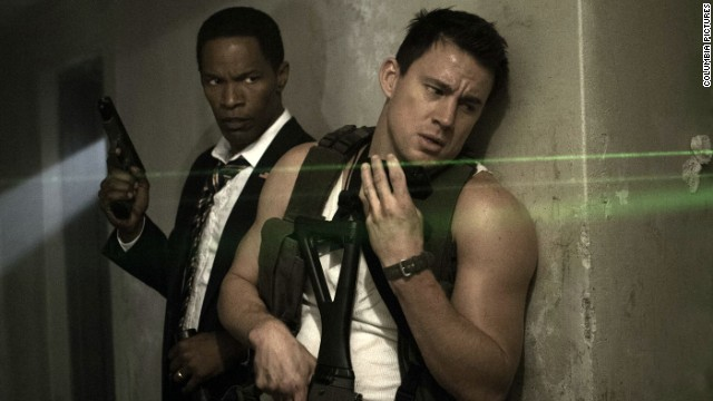Channing Tatum and Jamie Foxx star in Roland Emmerich's action movie,