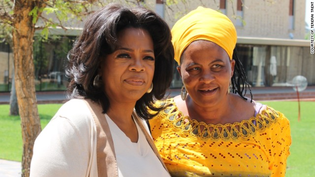 Oprah Winfrey made a $1.5 million donation to fund the rebuilding of the school in Matau, which over the years had become dilapidated. Winfrey also enlisted the charity Save the Children to manage what is known as the Matau Primary School Project.