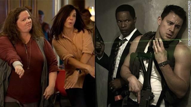 Box office battle: 'Heat' vs. 'White House Down'