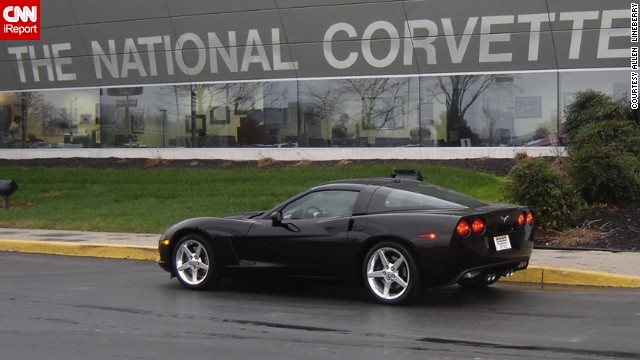 """Sheer luck and a raffle drawing united <a href='http://ireport.cnn.com/docs/DOC-996058'>Allen Lineberry</a> with is C6 Corvette Coupe. He can still remember falling in love with the Corvette while watching the television show """"Route 66"""" as a 10-year-old boy."""