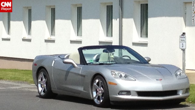 "<a href='http://ireport.cnn.com/docs/DOC-995983'>Jim Zingg</a> named his C6 Corvette convertible Lailani. ""I'm not giving her up. I searched for almost two years to find the perfect Corvette,"" he said."