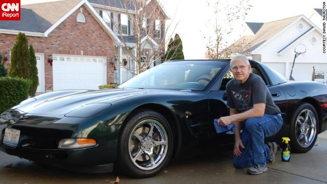 """<a href='http://ireport.cnn.com/docs/DOC-996200'>David Thurston</a> details his 2000 Coupe. He says he loves having a piece of American history and tradition, and """"being a part of a unique community,"""" he said."""