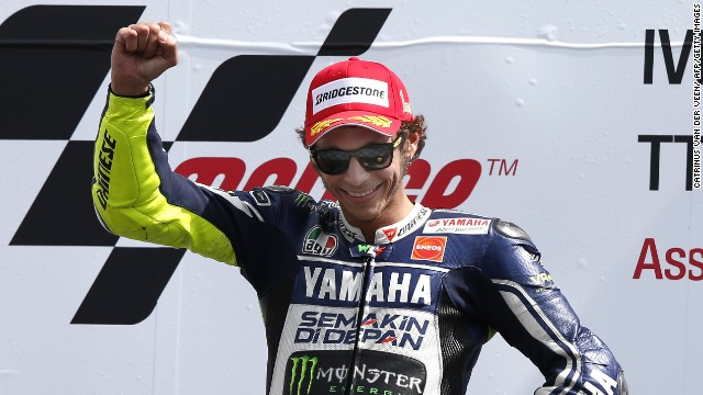 Valentino Rossi returned to the top of the podium with a superb victory at Assen.