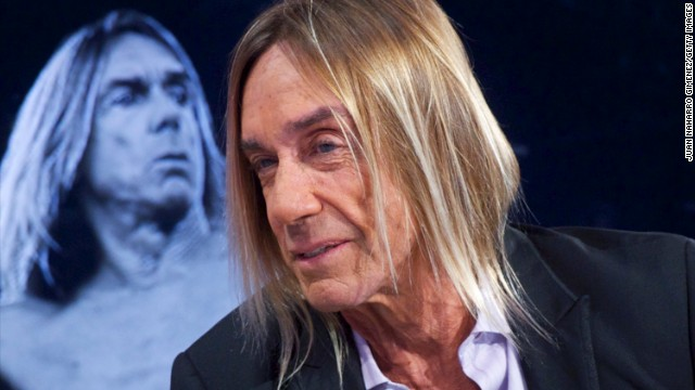 Iggy Pop is touring Europe with The Stooges, having recorded