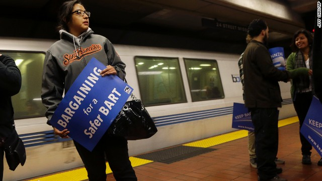 Striking transit workers in San Francisco returned to work Friday, but contract negotiations will continue.
