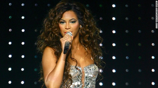 Beyonce, seen here at Madison Square Garden in New York City in 2007, donated the money she received for performing at a private New Year's Eve party on the Caribbean island of St. Barts in 2009. The party was hosted by family members of Libyan leader Moammar Gadhafi.