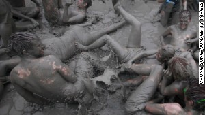 From mega mud baths to food fights