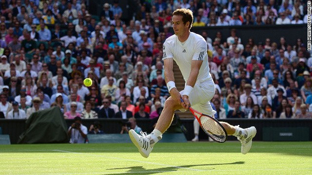 Andy Murray is bidding to become the first British winner of the men's singles at Wimbledon since Fred Perry in 1936.