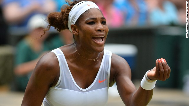 Williams made a nightmare start to the contest -- losing the opening set 6-2 against the 23rd seed Lisicki. Her opponent reached the semifinal at Wimbledon in 2011.