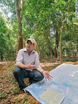 Australian archaeologist Dr. Damian Evans of the LiDAR mission explains how monumental the mega-city of Angkor actually is.