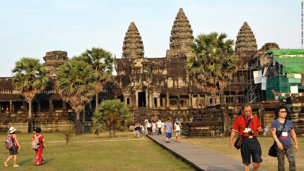 6. Angkor Wat (Siem Reap, Camboya)