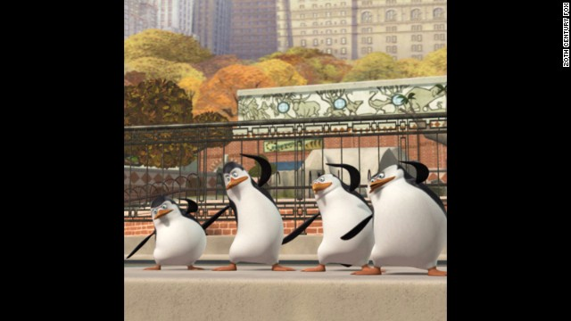 "Like the adorable minions, the penguins from Dreamworks' ""Madagascar"" films have turned into breakout stars with ""The Penguins of Madagascar."""