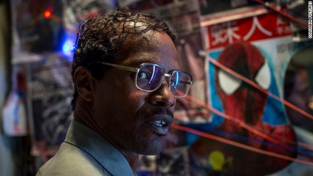 Jamie Foxx as Electro in 'Spider-Man 2'