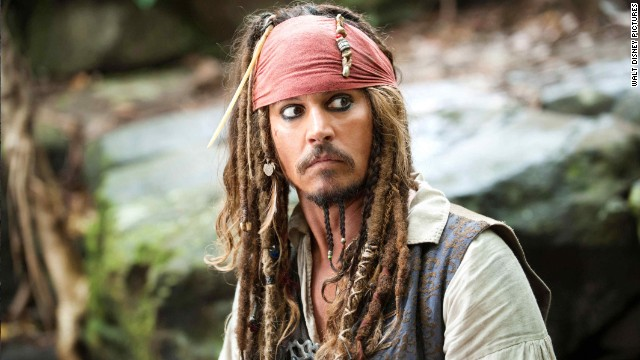 "At this point, Johnny Depp might want to consider making his eyeliner permanent. The actor is stepping into Captain Jack Sparrow's costume once again for the fifth ""Pirates of the Caribbean"" film, which is titled ""Dead Men Tell No Tales."""