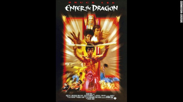 "Kelly is featured on the poster for ""Enter the Dragon."""