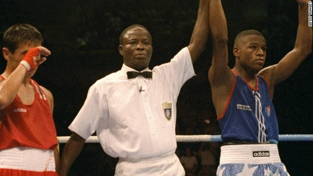 Floyd Sr.'s incarceration meant he missed the first major honor of his son's career as Floyd won a bronze medal at the 1996 Olympics.