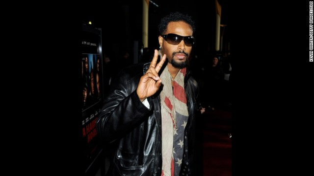 "Shawn Wayans tucks his stars and stripes around his neck for the premiere of brother Marlon Wayans' movie, ""A Haunted House,"" in January in Los Angeles."