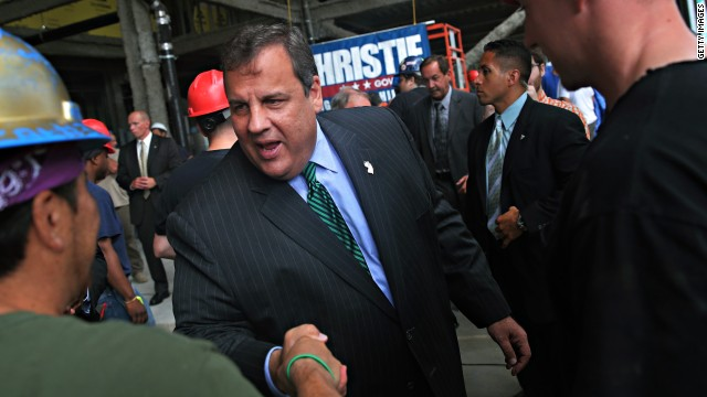 Christie to stand with former rival in NJ Senate battle