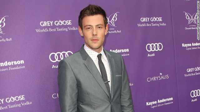 Photos: \'Glee\' star Cory Monteith