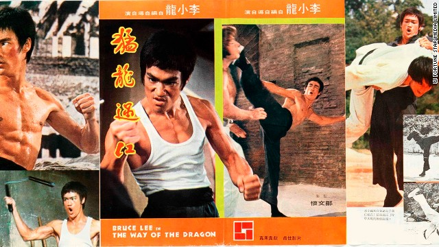 "A handbill for ""The Way of the Dragon"", which was written, produced and directed by Bruce Lee, and is considered one of the greatest action films of all time."