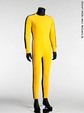 "As famous as its wearer, the iconic yellow tracksuit Lee wore in ""Game of Death"" has become a symbol of the kung fu master."