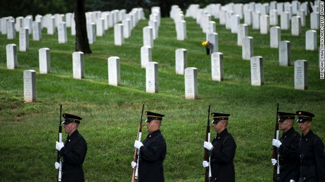 Vietnam soldiers buried at Arlington