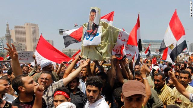 El ejército egipcio toma el control de la televisión estatal