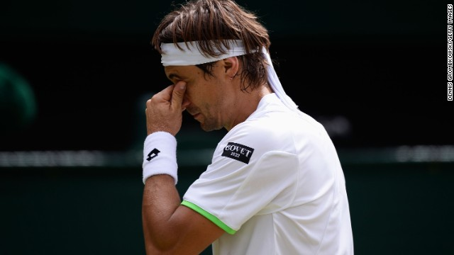 David Ferrer revealed he was suffering with aches and pains going into the clash with Del Potro and lost the first two sets. The world No.4 took his opponent to a tiebreak in the third but was unable to save the match.