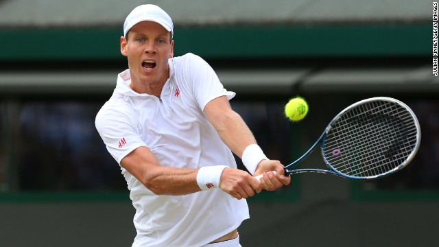 Czech Berdych faded badly after losing the first set on the tiebreak and was unable to prevent Djokovic from claiming victory.