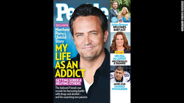 Matthew Perry's road to sobriety