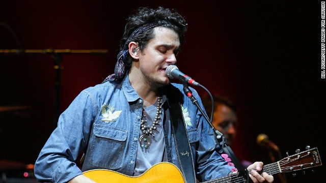 John Mayer dedicates song to 'patient' Katy Perry