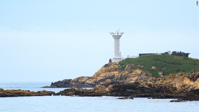 Quirky lighthouses are a trademark of the Busan region.