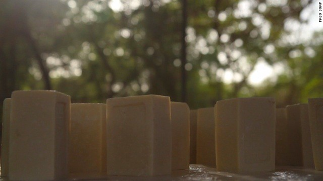 """Our soap will fulfill the desire of the population to be clean, as well as protect them from malaria, without any additional cost to them,"" says Niyondiko."
