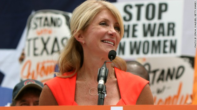 Texas state Sen. Wendy Davis announces bid for gov.