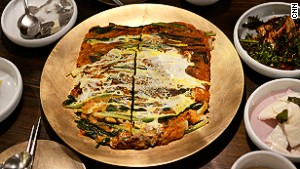 The recipe for this perfect pajeon has been handed down for four generations.