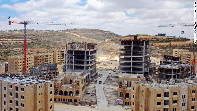 The construction of Rawabi, which began in January 2010, has created thousands of jobs and could bring more after the first residents move in.