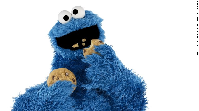"""Om nom nom nom"" -- <strong>Cookie Monster</strong>'s voracious appetite for his favorite chocolate chip treats have endeared him to viewers since Sesame Street's first season. He's even managed to fit in teaching some important lessons: thanks to him, generations of kids have grown up knowing that ""C"" is for Cookie."