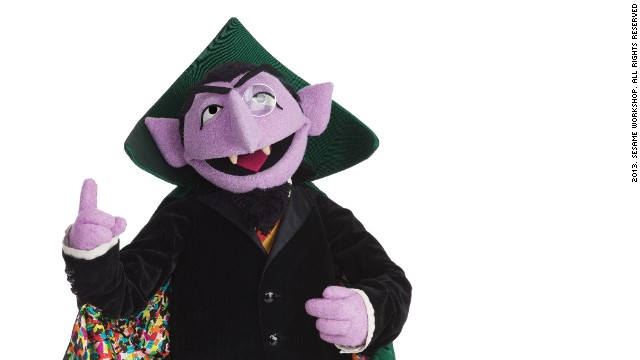 Nothing can interrupt the <strong>Count </strong>when he's counting. Whether counting from one to 10, or up to a billion (as he did this year to celebrate Sesame Street's one billion YouTube video views), the Count is happiest with numbers. He can now count over 40 years of appearances on Sesame Street since his debut in 1972.